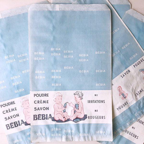 フランス ヴィンテージペーパーバッグ Bébia 薬局(1960年代)