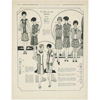 フランスの雑誌 〜LA MIROIR DES MODES〜より アドバタイジング022