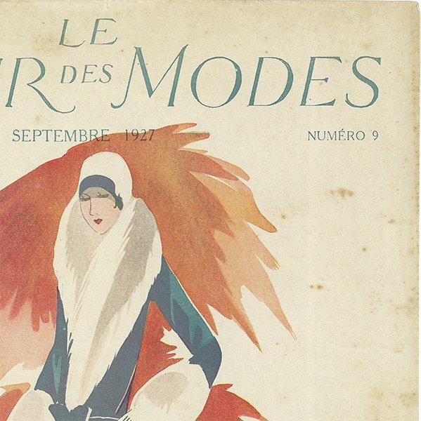 フランスの雑誌 〜LA MIROIR DES MODES〜より アドバタイジング027