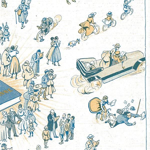 フランスの雑誌 〜LA VIE PARISIENNE〜より アドバタイジング030