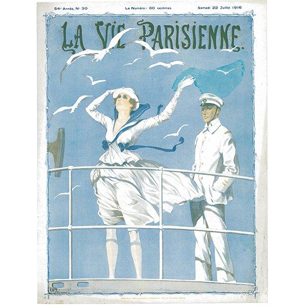 フランスの雑誌 〜LA VIE PARISIENNE〜より アドバタイジング031