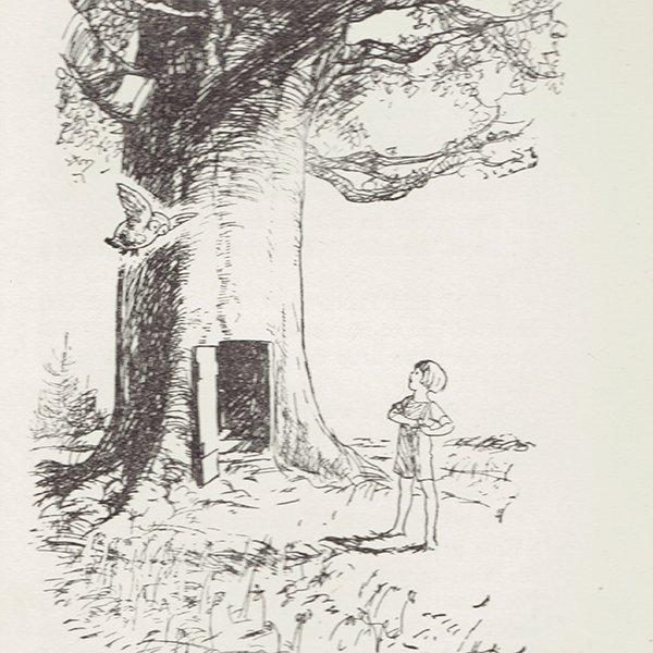 ヴィンテージプリント くまのプーさん(クラシックプーCH-0011)