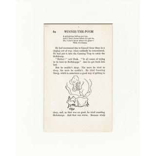 ヴィンテージプリント くまのプーさん(クラシックプーCH-0020)