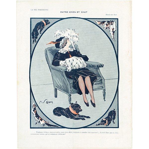 フランスの雑誌 〜LA VIE PARISIENNE〜より アドバタイジング032