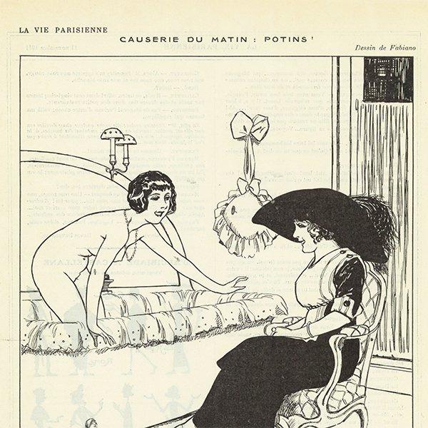 フランスの雑誌 〜LA VIE PARISIENNE〜より アドバタイジング033