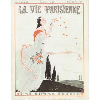 フランスの雑誌 〜LA VIE PARISIENNE〜表紙 アドバタイジング034