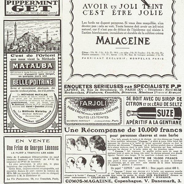 フランスの雑誌 〜LA VIE PARISIENNE〜より アドバタイジング035