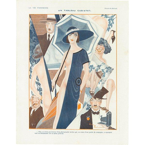 フランスの雑誌 〜LA VIE PARISIENNE〜より アドバタイジング037