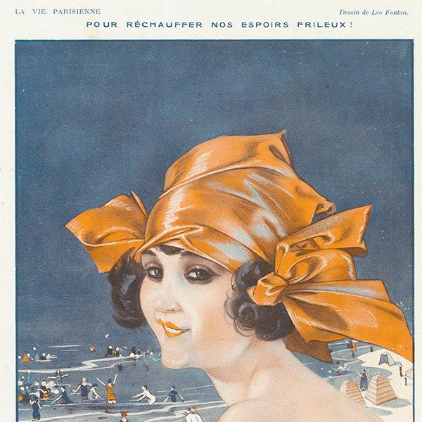 フランスの雑誌 〜LA VIE PARISIENNE〜より アドバタイジング038
