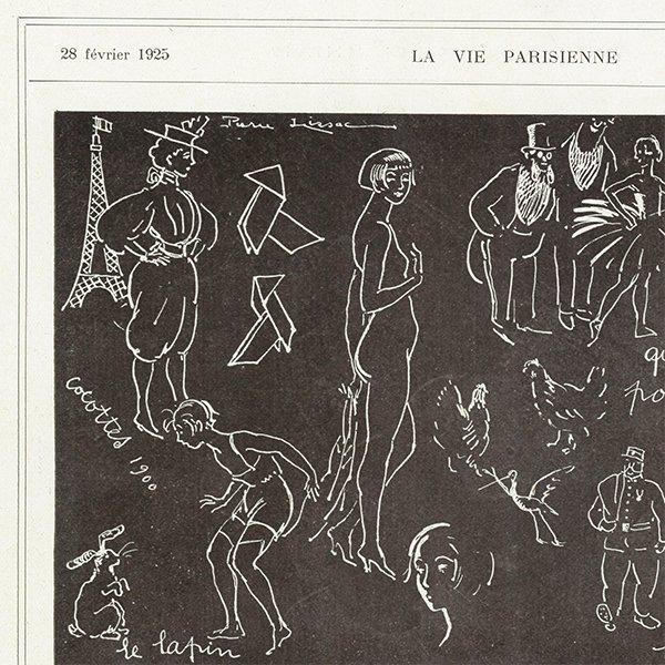 フランスの雑誌 〜LA VIE PARISIENNE〜より アドバタイジング039