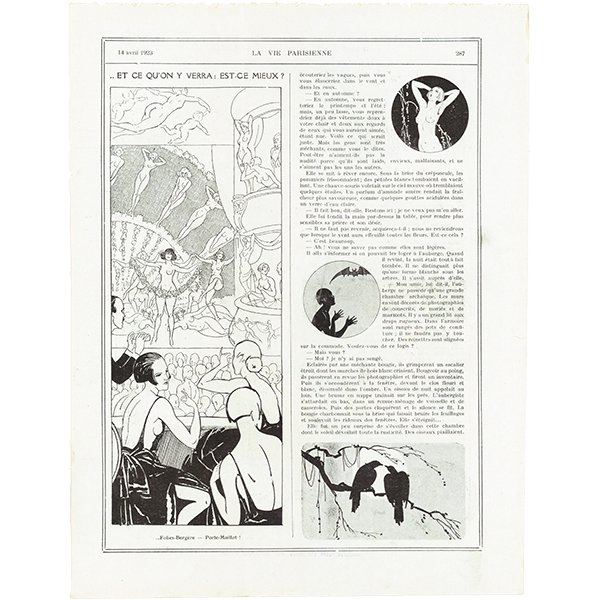 フランスの雑誌 〜LA VIE PARISIENNE〜より アドバタイジング041