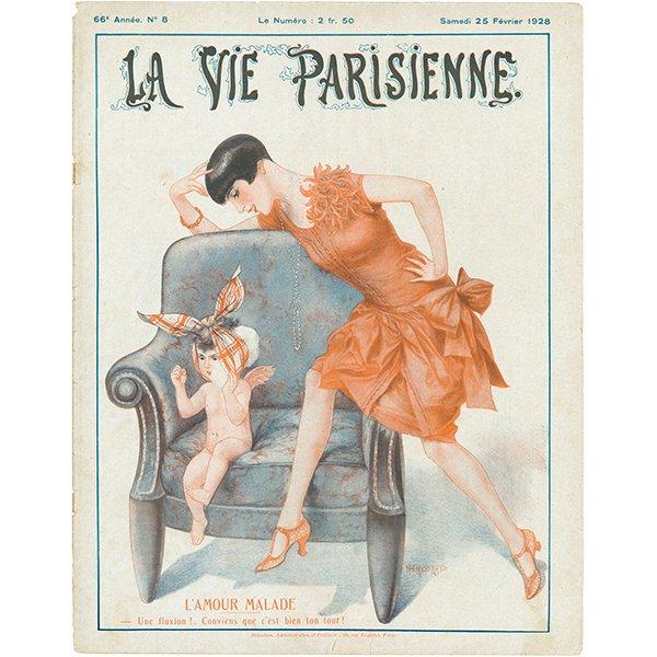 フランスの雑誌 〜LA VIE PARISIENNE〜表紙 アドバタイジング043