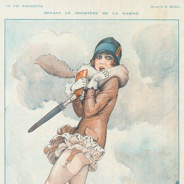 フランスの雑誌 〜LA VIE PARISIENNE〜より アドバタイジング045
