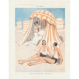 フランスの雑誌 〜LA VIE PARISIENNE〜より アドバタイジング046