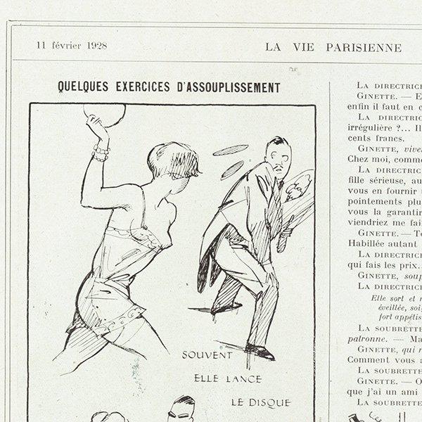 フランスの雑誌 〜LA VIE PARISIENNE〜より アドバタイジング047