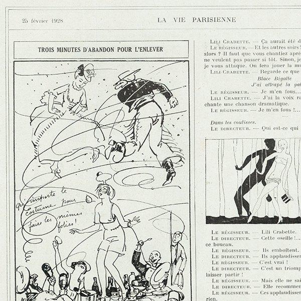 フランスの雑誌 〜LA VIE PARISIENNE〜より アドバタイジング052