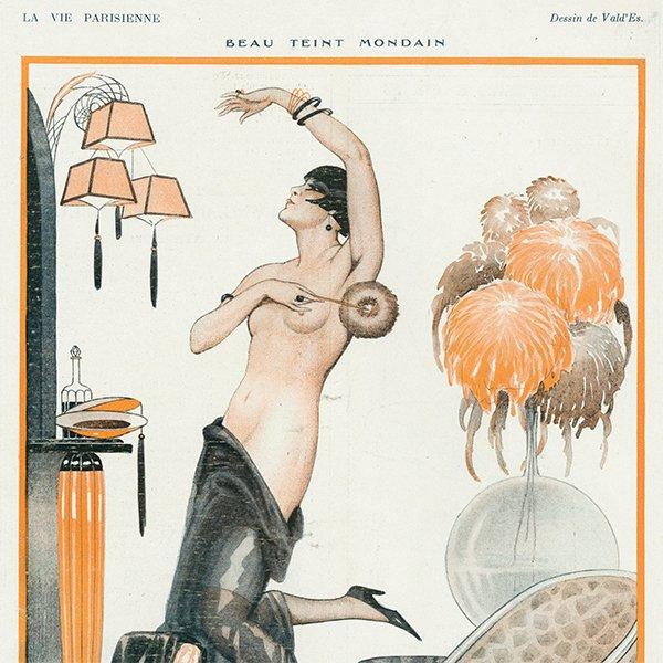 フランスの雑誌 〜LA VIE PARISIENNE〜より アドバタイジング054