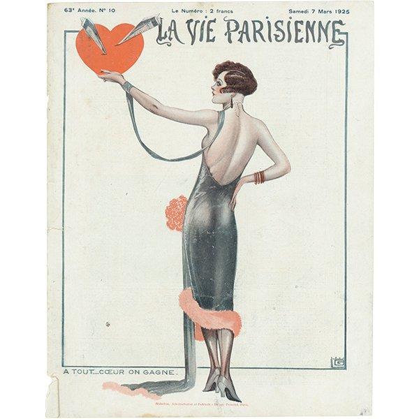 フランスの雑誌 〜LA VIE PARISIENNE〜より アドバタイジング056