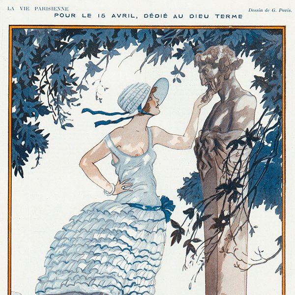 フランスの雑誌 〜LA VIE PARISIENNE〜より アドバタイジング057