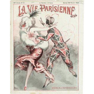 フランスの雑誌 〜LA VIE PARISIENNE〜表紙 アドバタイジング059