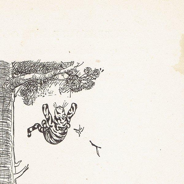 ヴィンテージプリント くまのプーさん(クラシックプーCH-0024)