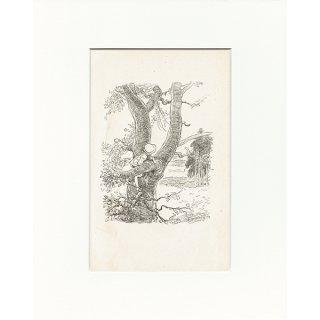 ヴィンテージプリント くまのプーさん(クラシックプーCH-0026)