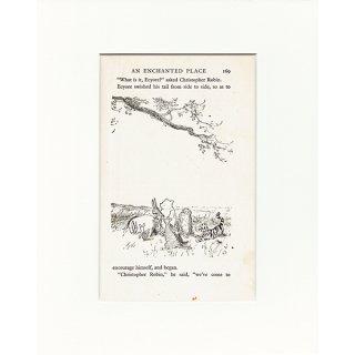 ヴィンテージプリント くまのプーさん(クラシックプーCH-0030)