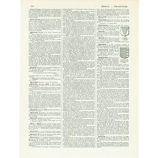フレンチアンティークプリント バスケット・マーケットバッグ 0021