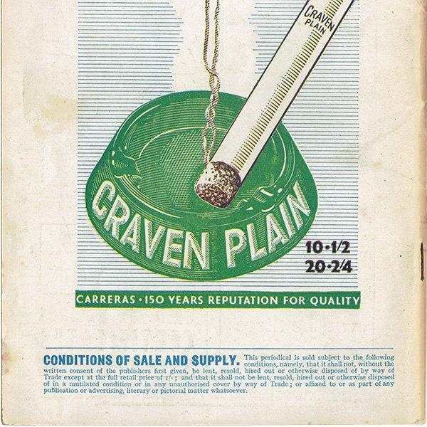イギリスのポケットマガジン Lilliput リリパット 1945年9月号 (表紙ワルター・トリヤー)