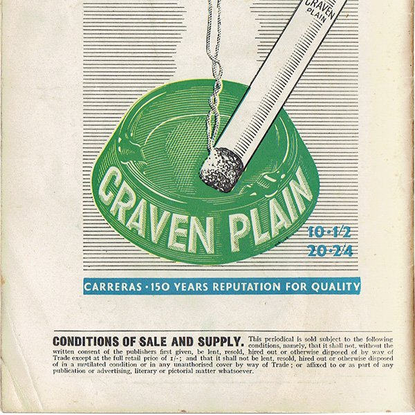 イギリスのポケットマガジン Lilliput リリパット 1945年12月号 (表紙ワルター・トリヤー)