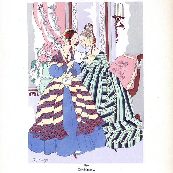 フランス ファッションプリント/ポショワール Ro Keezer 003