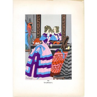 フランス ファッションプリント/ポショワール Ro Keezer 004