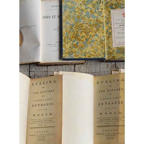 アンティーク ブック 本 洋書 7冊セット ディスプレイ 8274