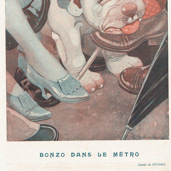 フランスの雑誌 〜FANTASIO〜より BONZO(ボンゾー)アドバタイジング065