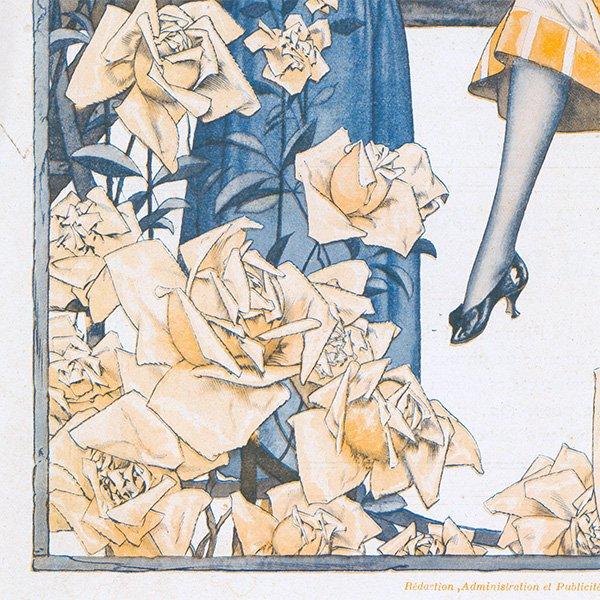 フランスの雑誌 〜LA VIE PARISIENNE〜表紙 アドバタイジング070