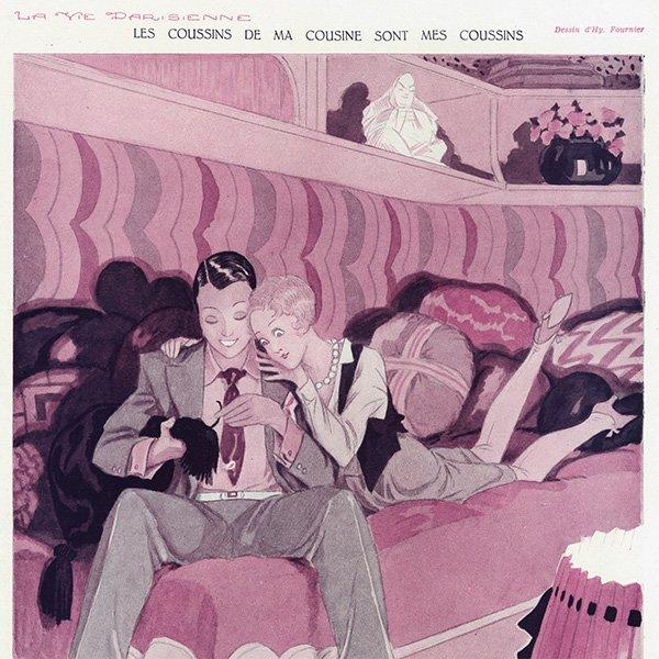 フランスの雑誌 〜LA VIE PARISIENNE〜より アドバタイジング072