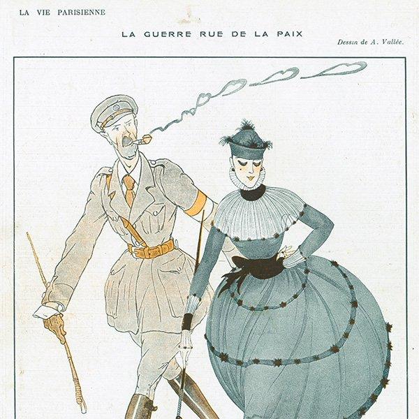 フランスの雑誌 〜LA VIE PARISIENNE〜より アドバタイジング074