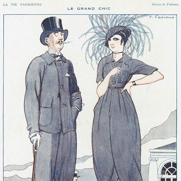 フランスの雑誌 〜LA VIE PARISIENNE〜より アドバタイジング075