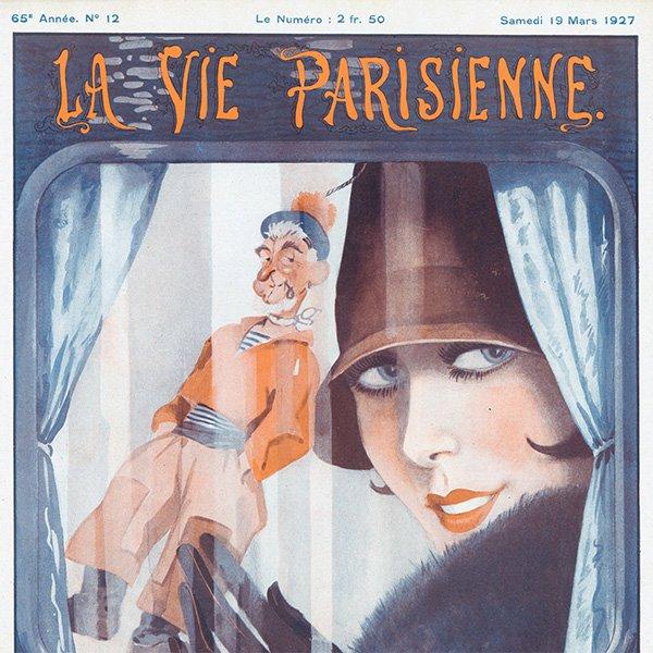 フランスの雑誌 〜LA VIE PARISIENNE〜表紙 アドバタイジング077