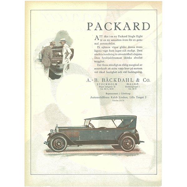 スウェーデンの古い雑誌表紙 Bonniers 1924-5-31 Nr22 072(ヴィンテージプリント)