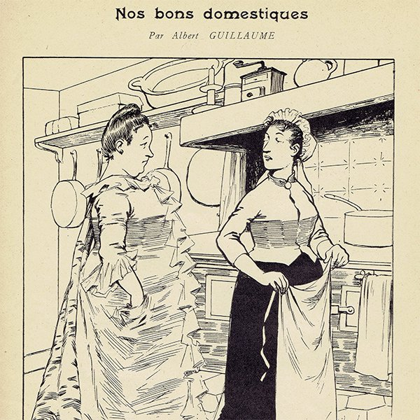 フランス アンティーク聖人暦 カレンダー(11月)058