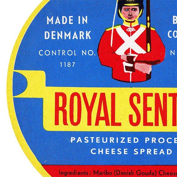 デンマークのヴィンテージチーズラベル(Maribo) 007