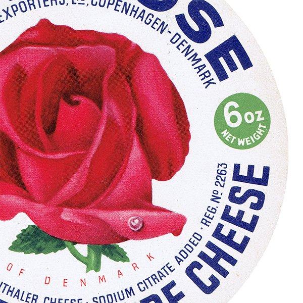 デンマークのヴィンテージチーズラベル(DANEROSE) 014