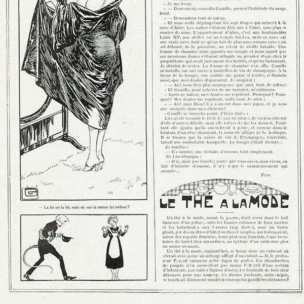フランスの雑誌 〜LA VIE PARISIENNE〜ジョルジュ・バルビエ 080