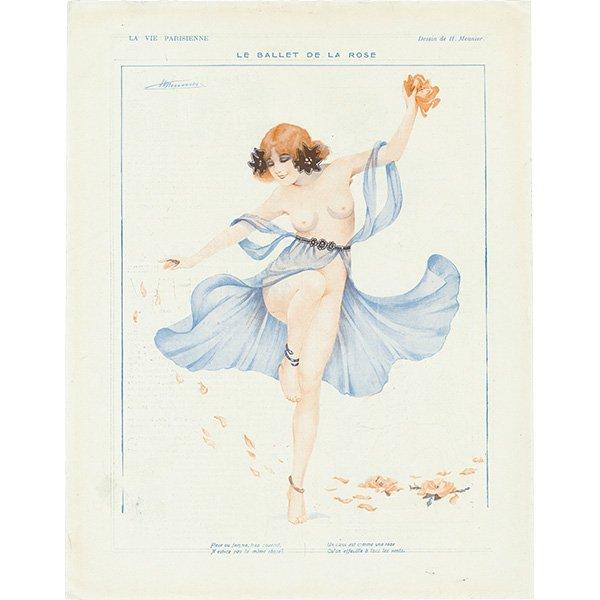 フランスの雑誌挿絵 〜LA VIE PARISIENNE〜 084