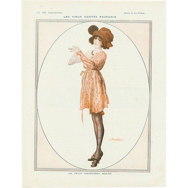 フランスの雑誌挿絵 〜LA VIE PARISIENNE〜 085