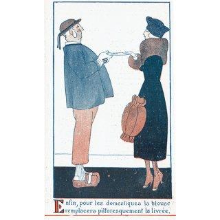 フランスの雑誌挿絵 〜LA VIE PARISIENNE〜 090