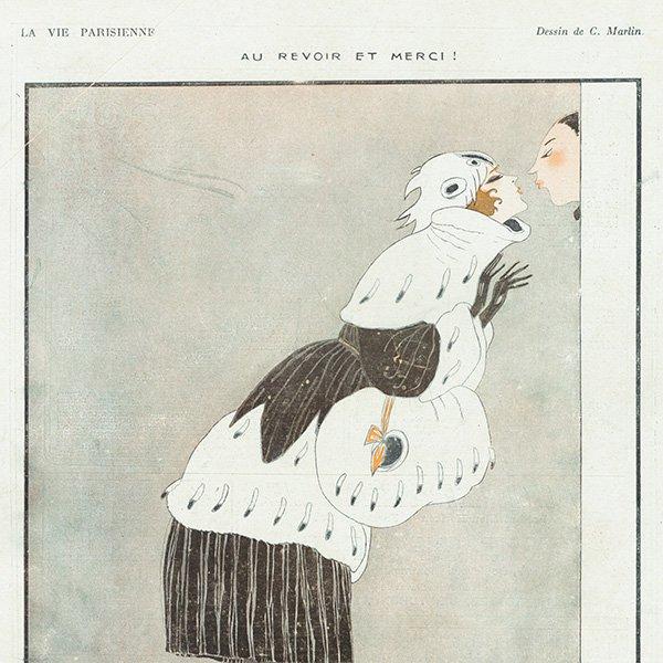 フランスの雑誌挿絵 〜LA VIE PARISIENNE〜 095