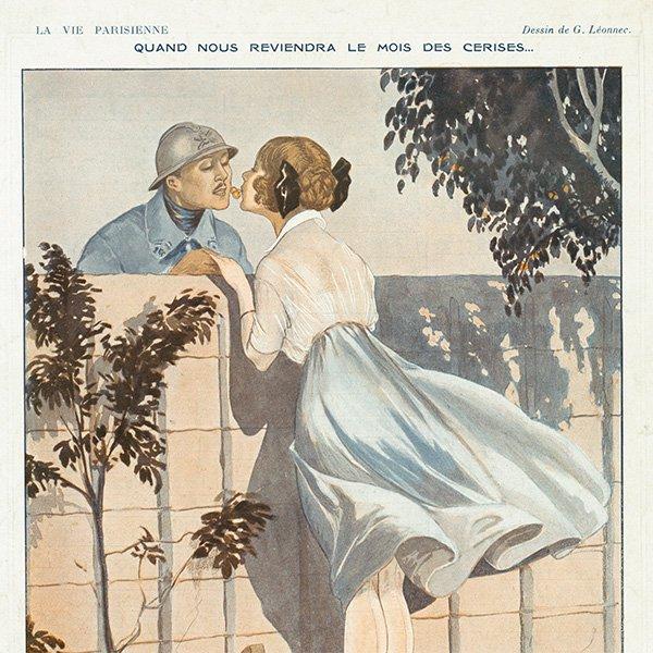 フランスの雑誌挿絵 〜LA VIE PARISIENNE〜 096