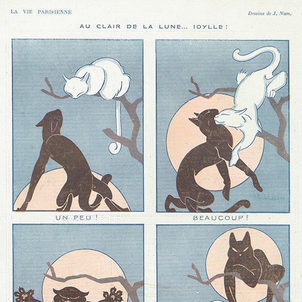 フランスの雑誌挿絵 〜LA VIE PARISIENNE〜 097
